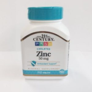 Chelated Zinc - 50 mg 110 Tablets | Buy Covid19 Accessories | Your OTC