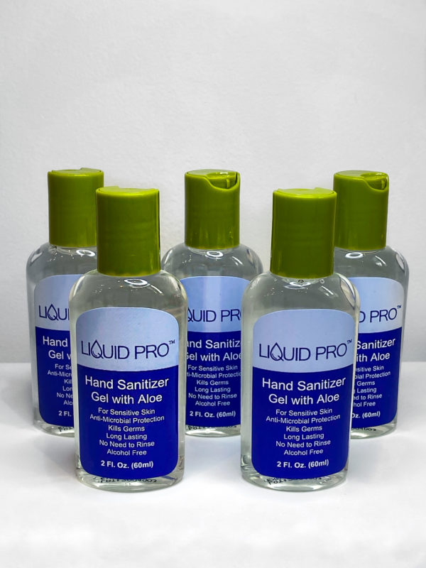 Liquid Pro Hand Sanitizer with Moisturizing Aloe 2oz