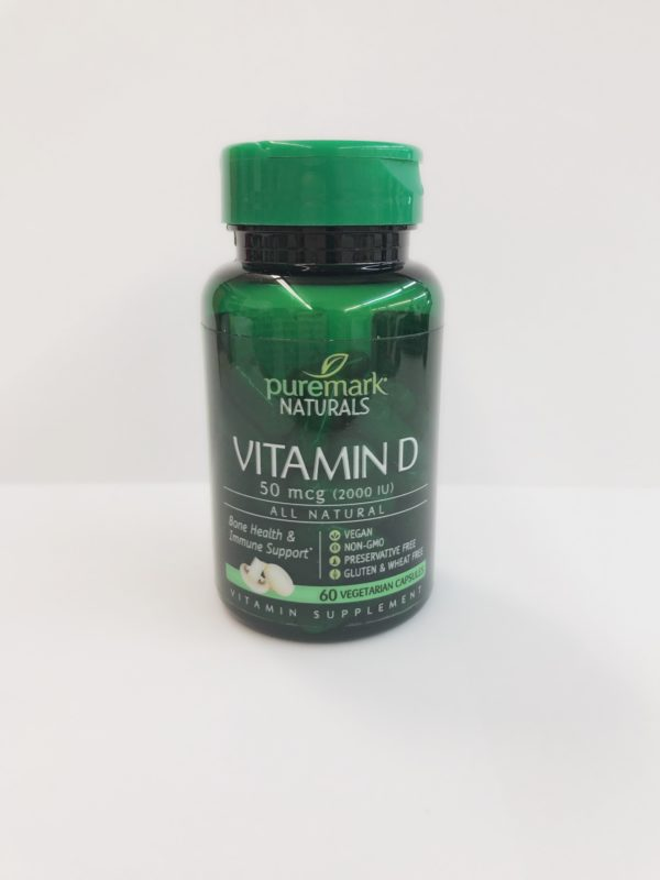 Vitamin D 2000IU 60 count by Puremark