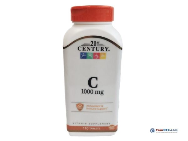 21st Century Vitamin C - 1000 mg 110 Tablets | Covid19 | Your OTC