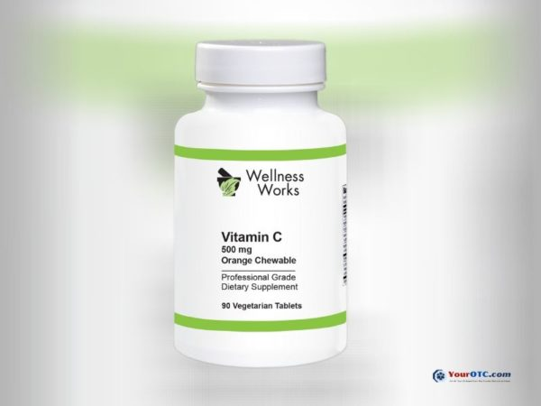 Wellness Works Vitamin C - 500 mg Vegan | Covid19 Products | Your OTC